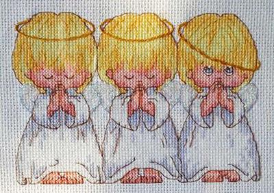 Вышивка крестом для зачатия