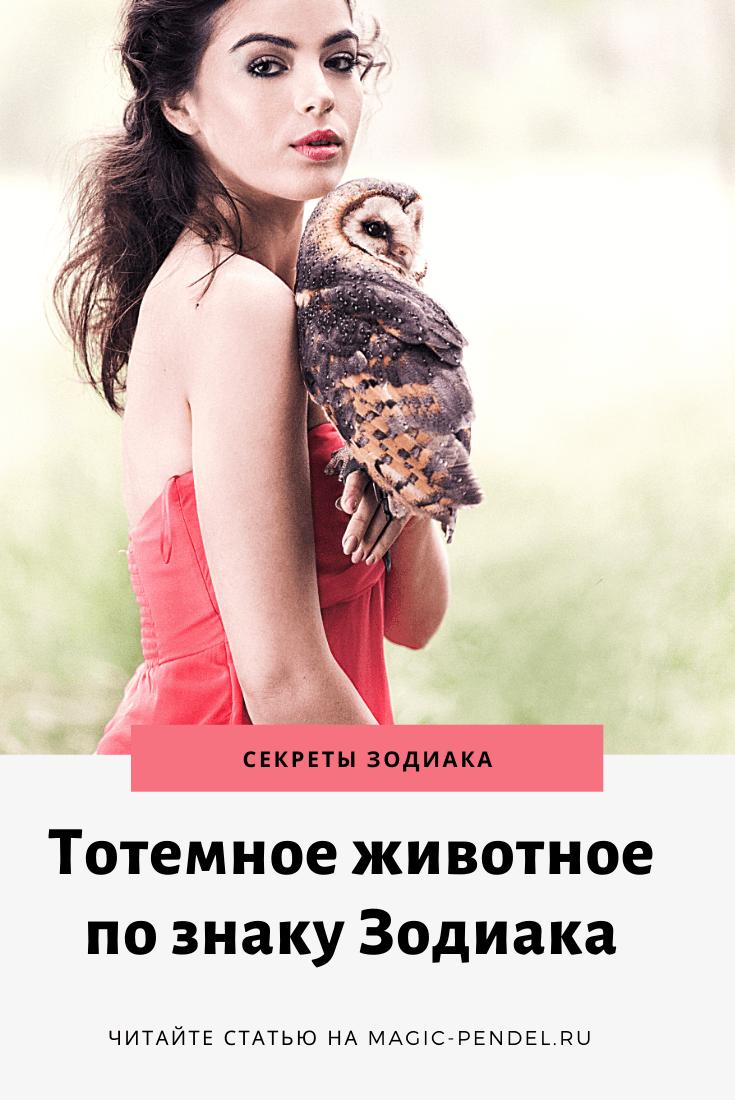Ваше тотемное животное по дате рождения #знакизодиака #гороскоп