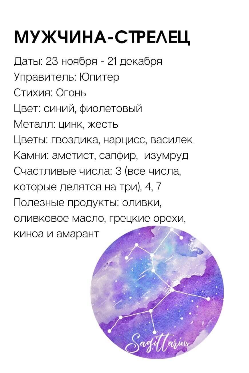 мужчина Стрелец характеристика знака зодиака